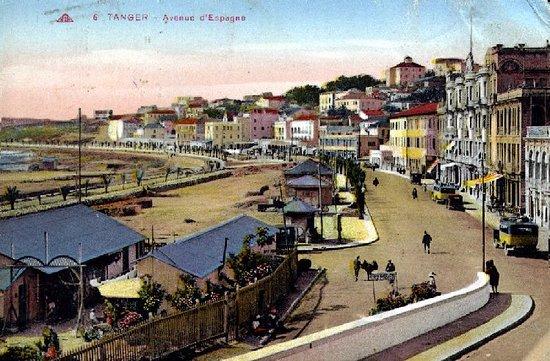 Région de Tanger-Tétouan, Maroc : La Plage de Tanger à travers le temps.