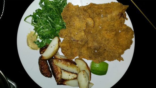 Veal schnitzel special