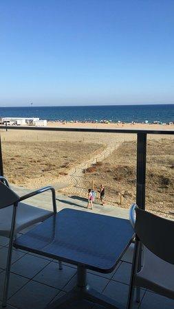 بيل آير هوتل: View from balcony