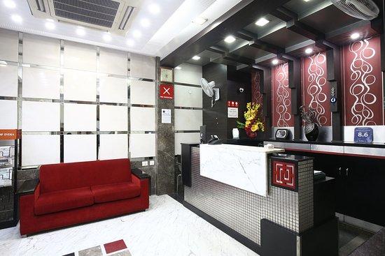 Fabhotel Karol Bagh Metro: Reception