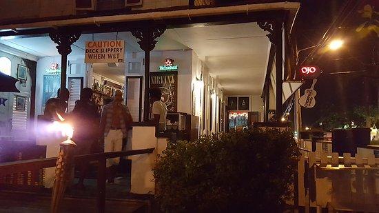 Worthing, Barbados: Ресторан как он есть