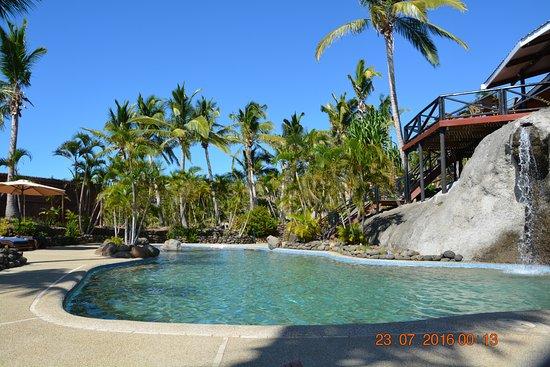 Rakiraki, Fiji: pool side