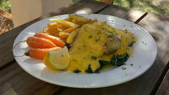 Saint Francis Bay, Zuid-Afrika: no excuses not eat great tasty quality food!