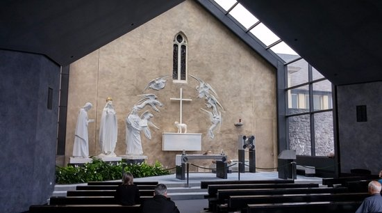 Apparition Chapel, National Shrine of Our Lady of Knock, Ireland, July 2016