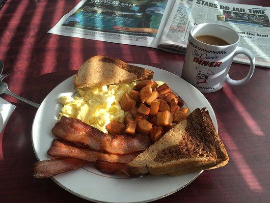 Lindsay, Canada: Basic breakfast :-)