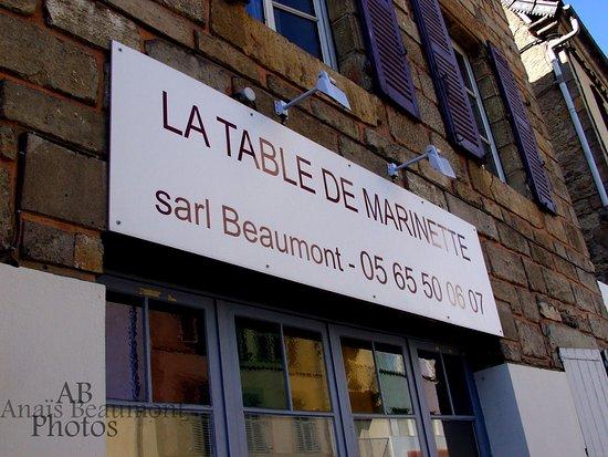 Figeac, Γαλλία: Devanture Restaurant