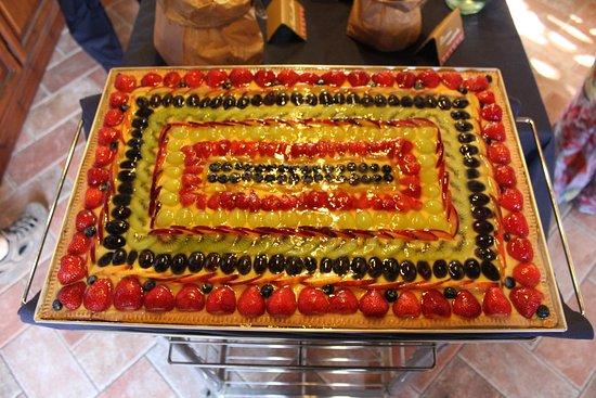 Bereguardo, Itália: Torta Nuziale