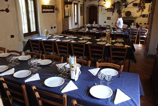 Bereguardo, Italien: Sala da pranzo