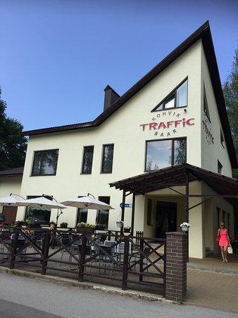 Narva-Joesuu, Estland: Traffic Baar
