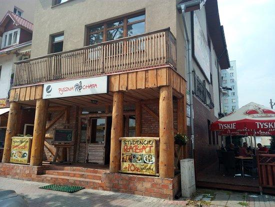 Slubice, Polonia: Restauracja PYSZNA CHATA