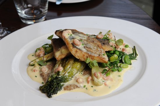 Barnham Broom, UK: Pan Fried Seabass
