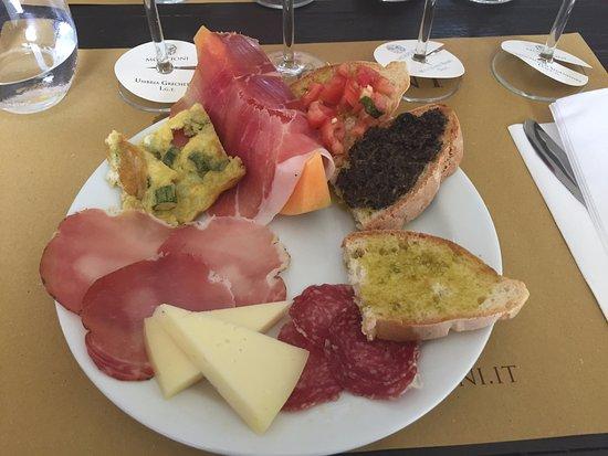 Montefalco, Italien: Tasting!