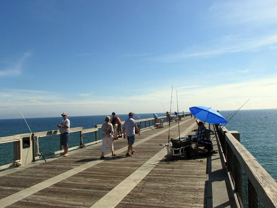 Navarre Beach Fishing Pier Nice Day To Stroll The