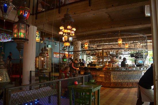bazar intrieur du restaurant