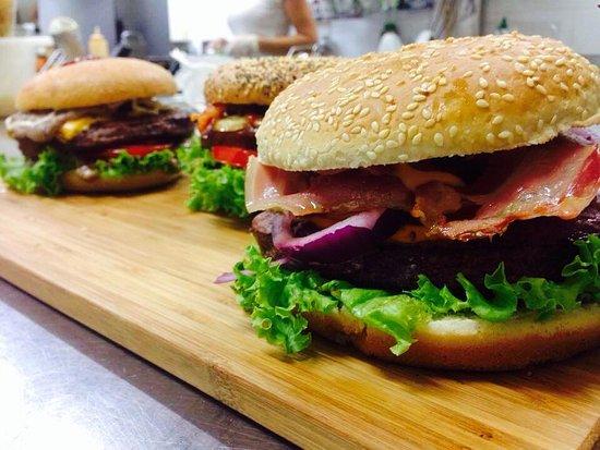 Servigliano, Italien: Lion burger !!!