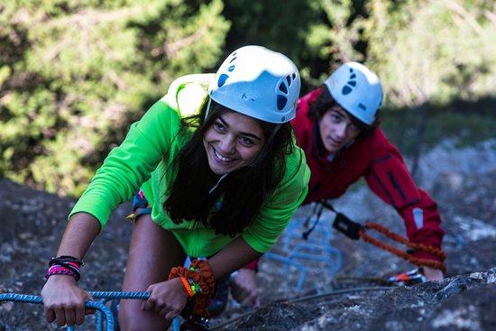 Ordino, Andorre : Bosque de aventura de Segudet / Bois d'aventures de Segudet