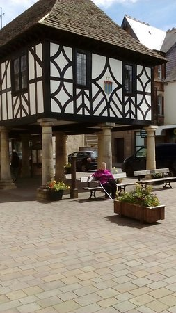 Royal Wootton Bassett Old Town Hall: The wife resting and a old fire pump