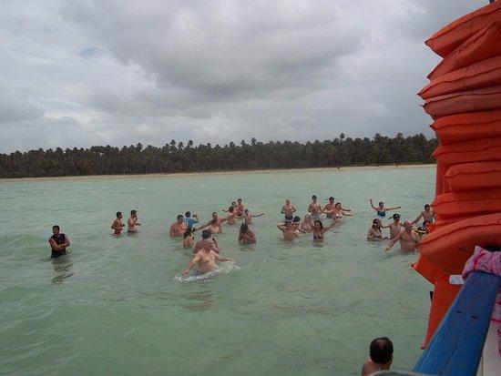 Piscinas naturais em maragogi com tempo chuvoso foto de for Piscinas naturales maragogi