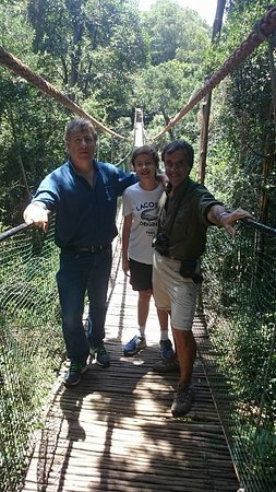 George, Afrika Selatan: Our Clients from Argentinia at Monkeyland