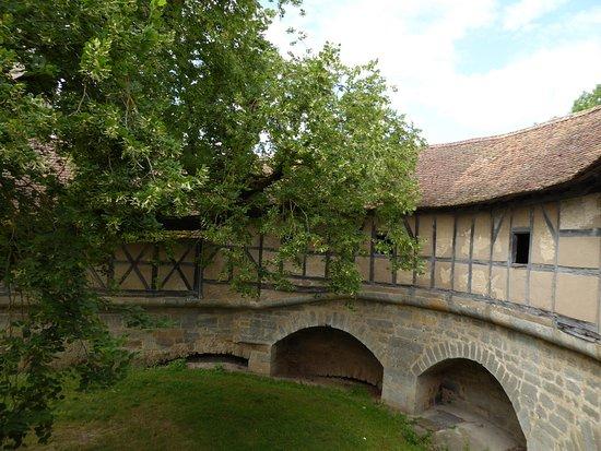 Spital Bastion : Blick in den Innenhof