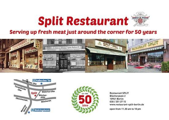 Restaurant Split: 50 Jahre