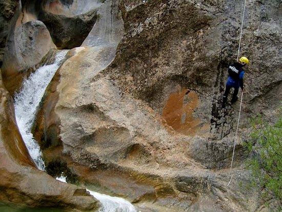 Saint-Beat, Frankrig: Canyoning