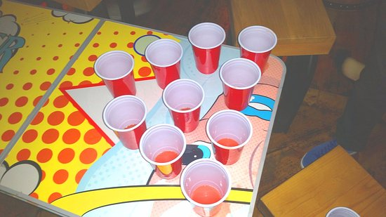 Macclesfield, UK: Rum Pong