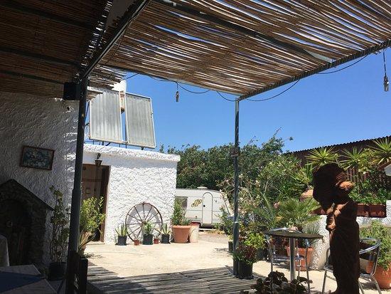 Prassonissi, Grèce : backyard
