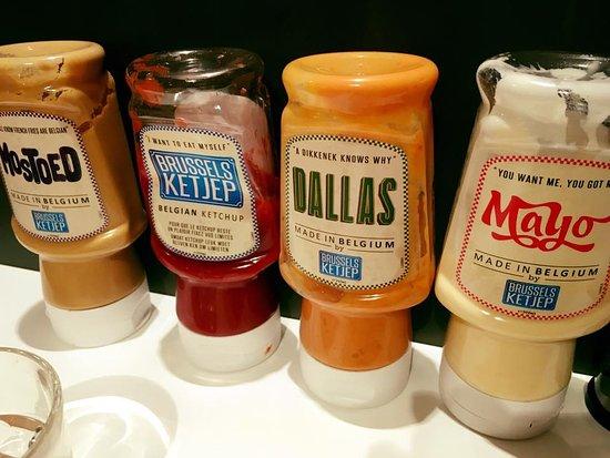 Saint-Gilles, België: Les sauces