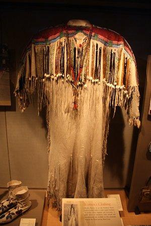 Buffalo Bill Historical Center: Beautiful clothing!