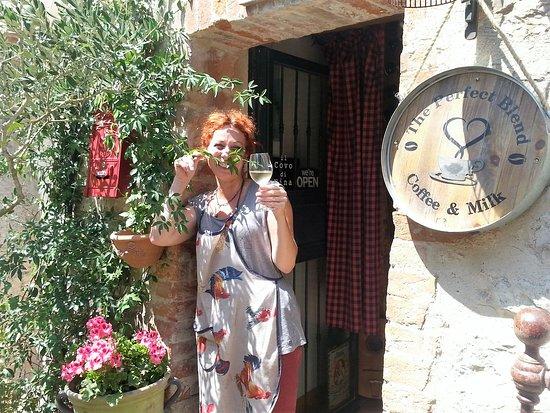 San Gusme, Italien: Sabrina @ Il Covo