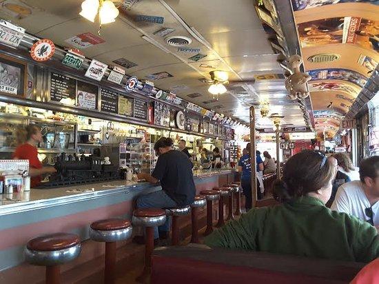 Crazy Otto's Empire Diner: Interior of Crazy Otto's