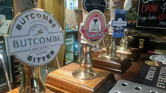Restaurant at The Bathurst Arms: We have a wide range of guest beers