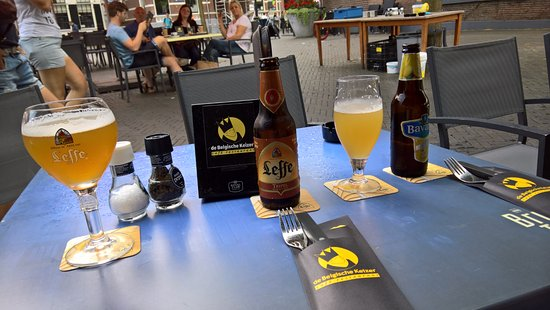 Zwolle, The Netherlands: Our drinks