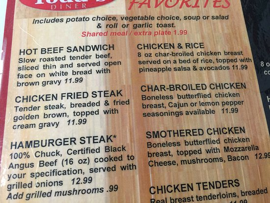 Gardner, KS: Part of the menu