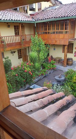 Amaru Hostal: View of garden from the room