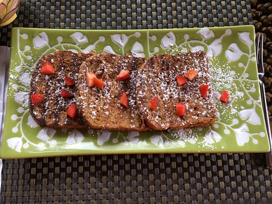 Cocles, Kostaryka: Delicious French toast