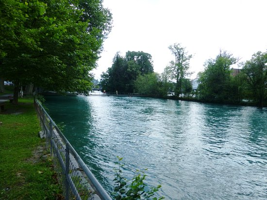 Flussbad Schwabis Thun