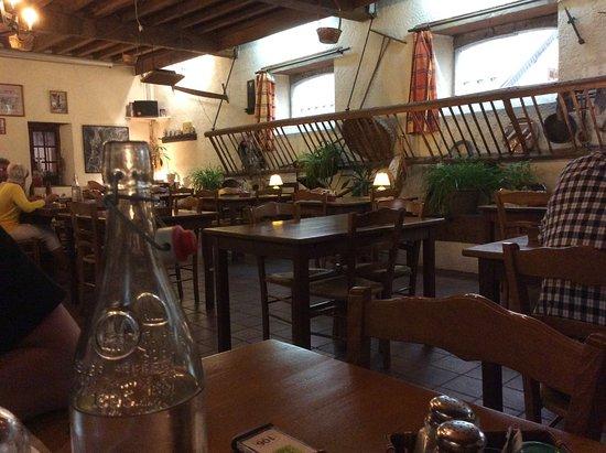 Montory, Frankrijk: salle de restaurant