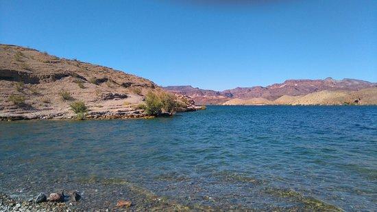 Nelson, NV: 静かなコロラド川の一面