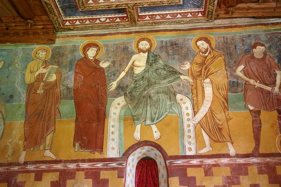 Vigo di Cadore, Italie : particolare interno