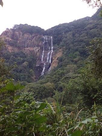 Morogoro Region, Tanzania: View to Sanje waterfalls on Sanje Route