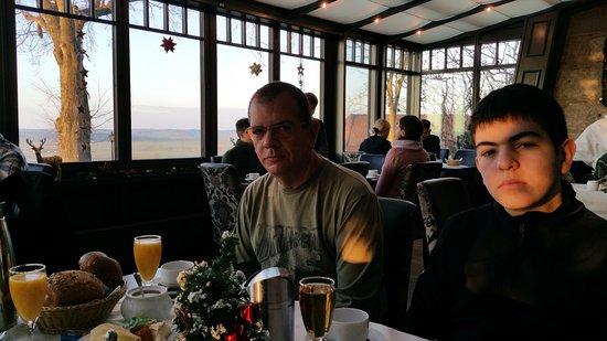 Colmberg, ألمانيا: Desayunador