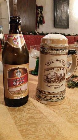 Colmberg, ألمانيا: Cerveza producida en el Castillo