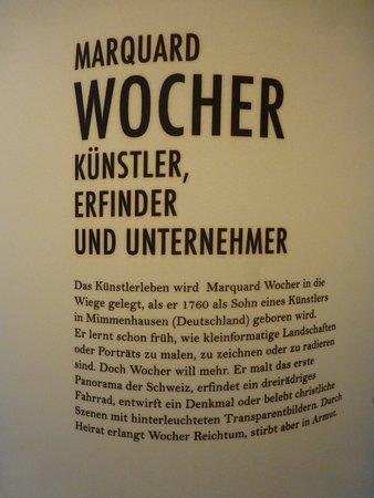 Тун, Швейцария: Plakat von Marquard Wocher