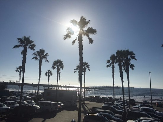 Ocean Beach: Vista da praia.