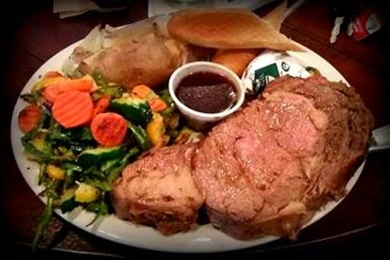 Sundance, WY: Prime Rib --- the BEST!