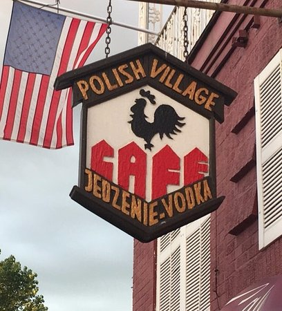 Hamtramck, MI: Look for the unique sign for Polish Village