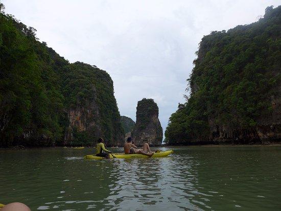 John Gray's Sea Canoe: paysage