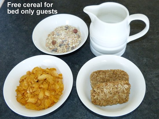 The Spinney Bed & Breakfast: Free cereal with bed only